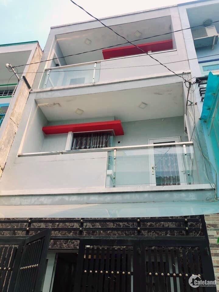Bán nhà Thoại Ngọc Hầu 4,1x14m 1 trệt 2 lầu sân thượng đúc