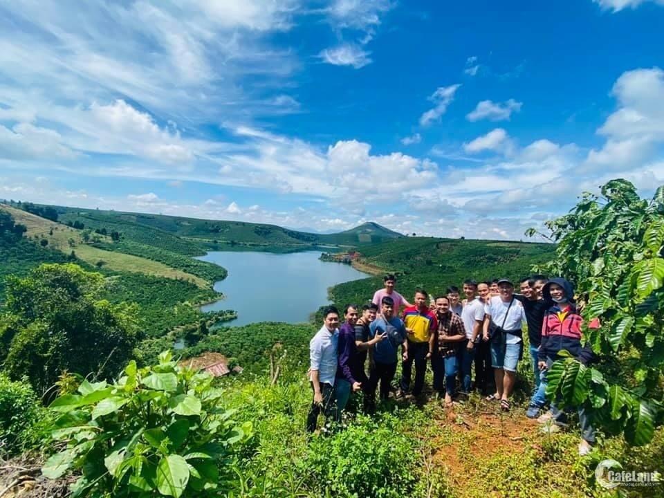 Đất nền nghỉ dưỡng view Hồ và đồi thông tại Bảo Lộc. chỉ 560tr