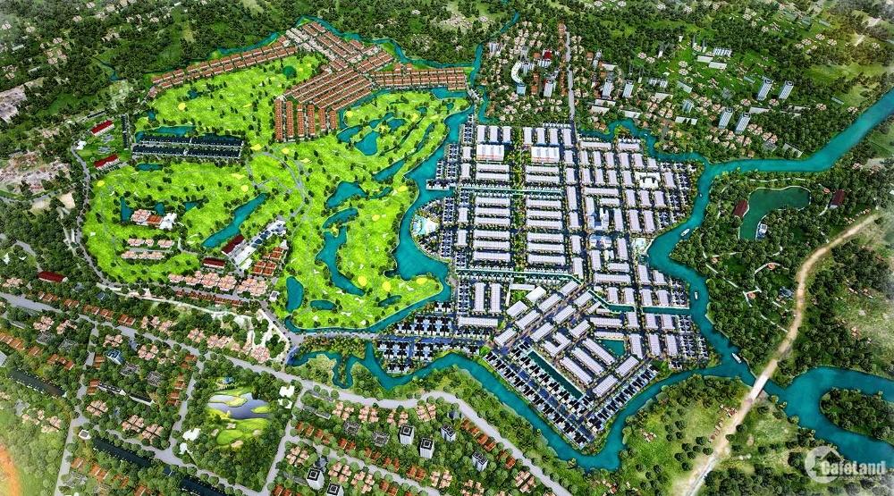 Đất nền sổ đỏ 100% thổ cư, nội khu sân Golf Long Thành giá siêu rẻ 14tr/m2