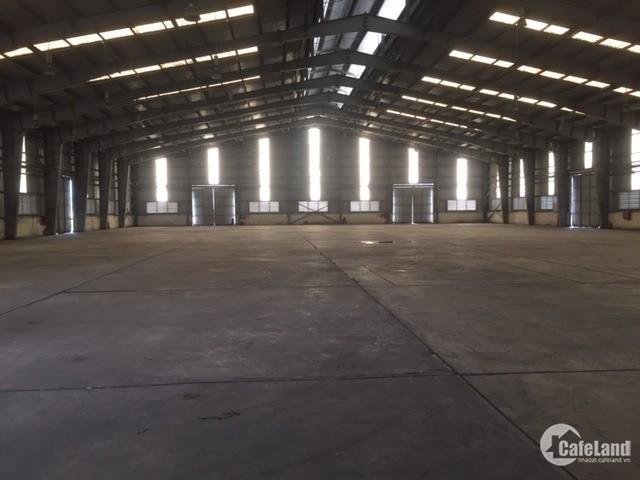 Bán kho xưởng DT 6450m2 KCN Thạch Thất - Quốc Oai, Hà Nội
