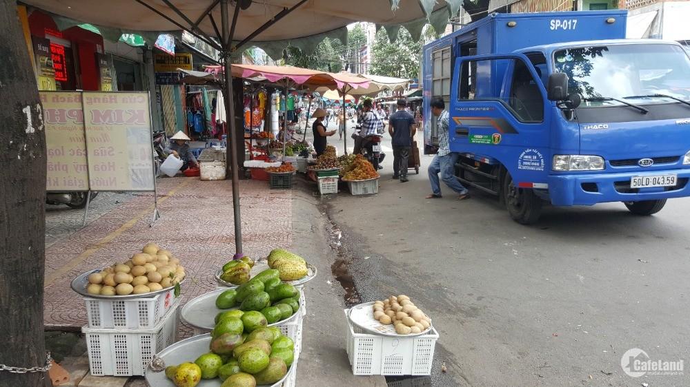 Mặt bằng kinh doanh ngay chợ Hòa Bình mặt phố Bùi Hữu Nghĩa Q5