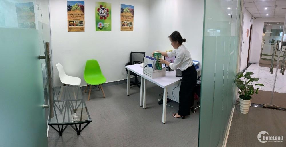 Cho thuê văn phòng trọn gói giá 4,5 triệu/th, phòng 2 - 3 người, Ba Đình, Cửa Bắ