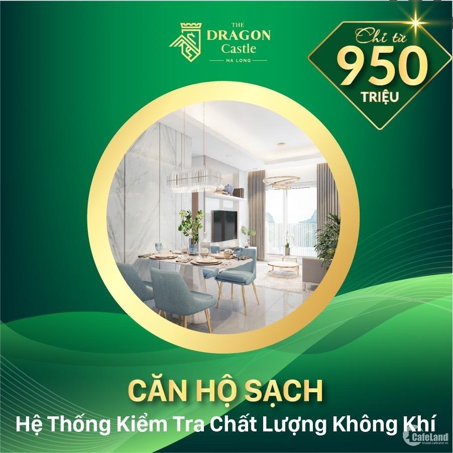 950 triệu mua ngay căn hộ 2 phòng ngủ tại Hạ Long