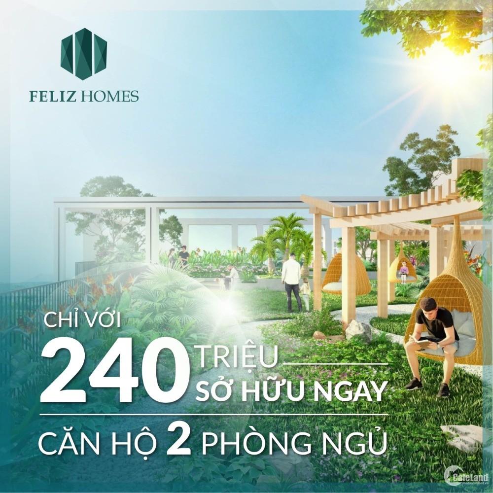Feliz Homes Chung Cư Cao Cấp Quận Hoàng Mai,LS 0% Trong 18 Tháng - LH 0989841060
