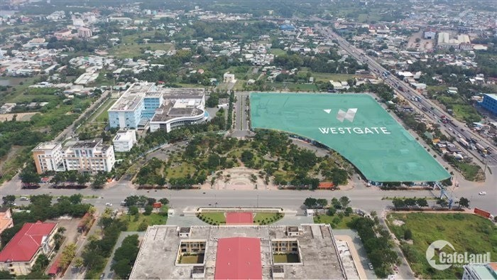 Chỉnh thanh toán 600 triệu sở hữu ngay căn hộ WEST GATE trung tâm hành chính