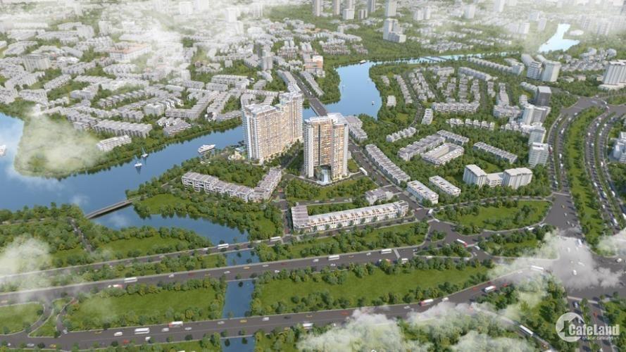 1 tỷ đồng sỡ hữu ngay căn hộ mặt tiền sông quận 2.  tiếp giáp Đại Lộ Mai Chí Thọ