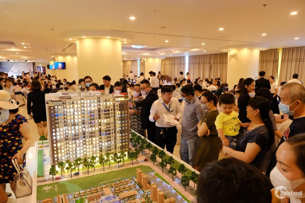 Căn hộ chung cư thương mại đầu tiên ở Thành Phố Cảng Phú Mỹ tương lai