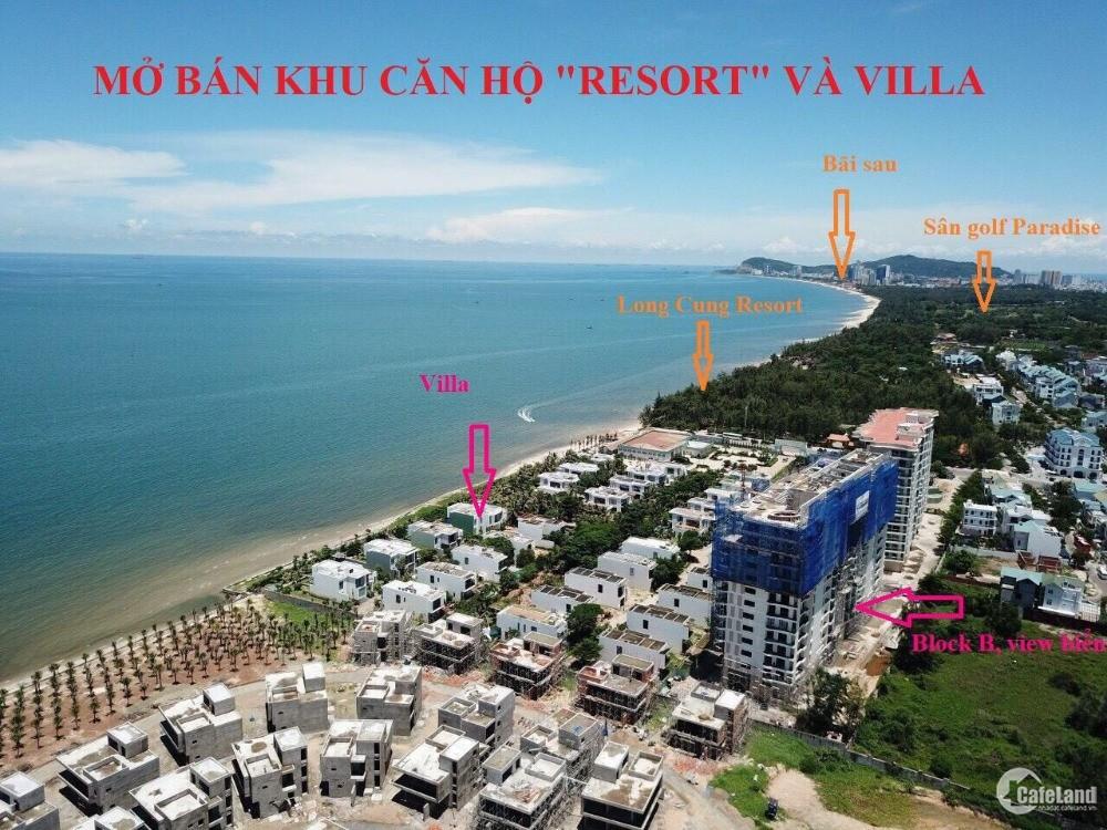 Mở bán căn hộ Vũng Tàu- căn hộ ven biển aquamarine biển Chí Linh 1,8 tỷ/ căn
