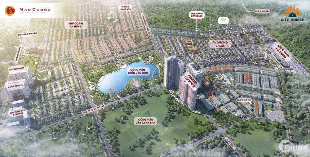 Biệt thự An Vượng Villa – KĐT Dương Nội, Hà Đông chỉ từ 80tr/m2 bàn giao sổ đỏ l