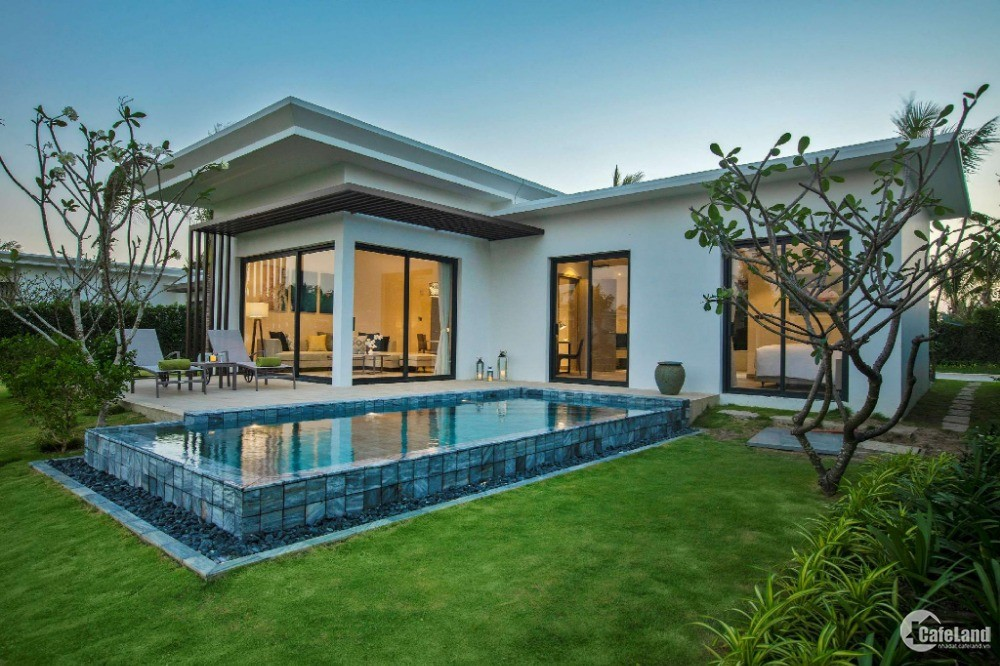 Biệt thự biển 2pn Melia Hồ Tràm giá chỉ từ 8.5 tỷ/căn có hồ bơi riêng gần Casino