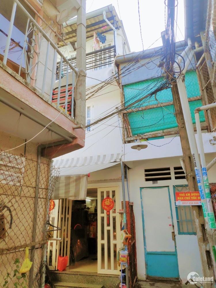 Bán nhà 2 lầu hẻm 205 Huỳnh Tấn Phát, P.Tân Thuận Đông, Quận 7