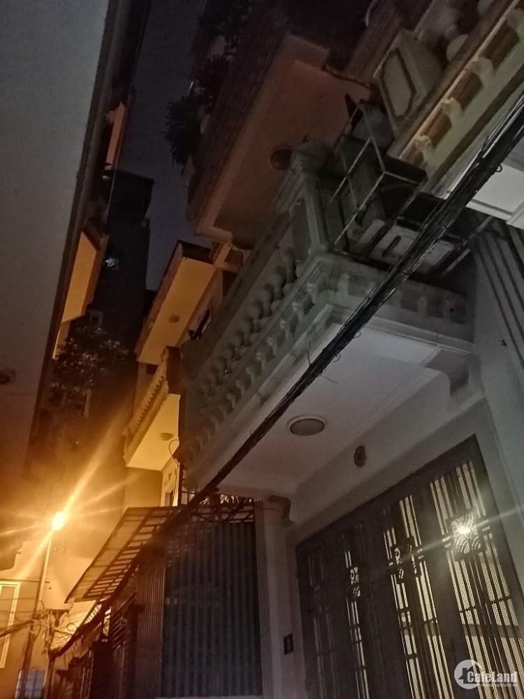 Nhà Kim Ngưu, Hai Bà Trưng: 70m, 4 tầng, ngõ 3 gác cách ô tô 10m, đẹp long lanh