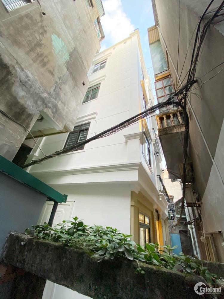 Nhà phố Bạch Mai 41m2, lô góc mặt tiền 8m xây mới