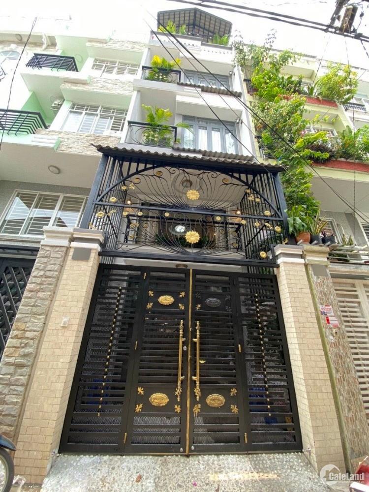 Bán nhà 3 lầu Hẻm Xe Hơi 60 Lâm Văn Bền, P.Tân Kiểng Q7