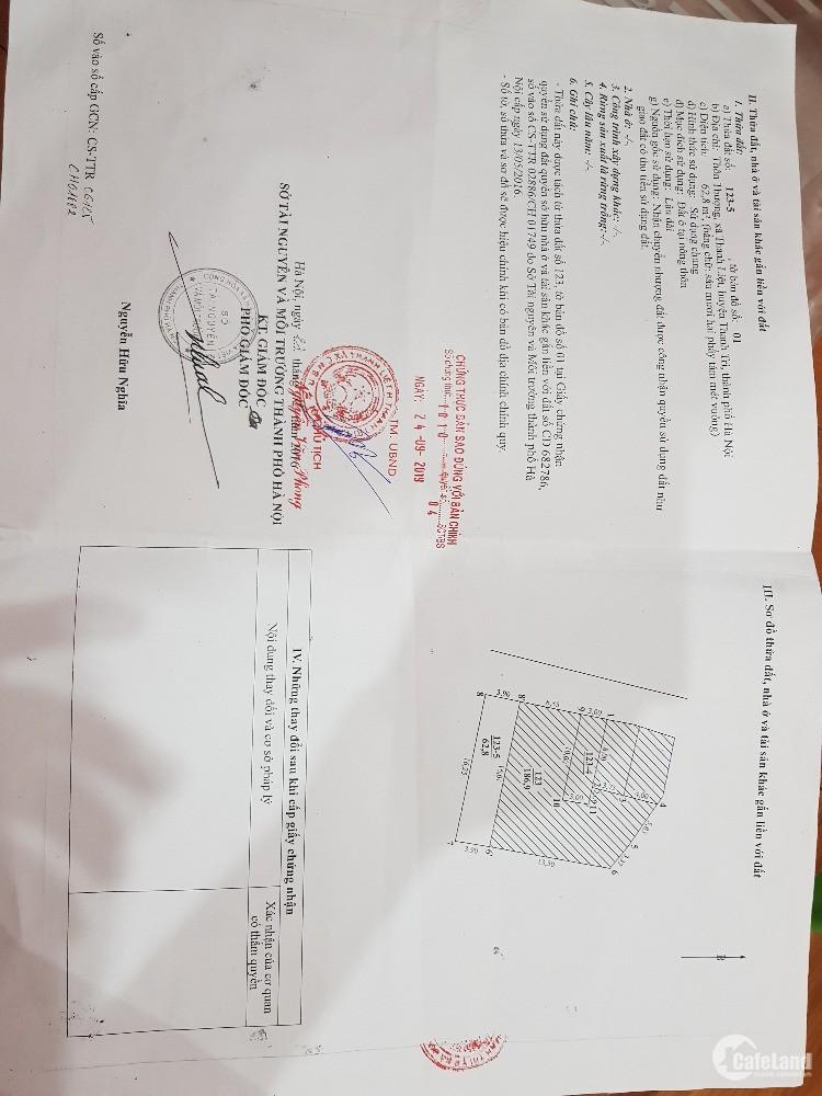 Nhà Đất Chính chủ, sổ đỏ, ngõ 570 Kim Giang, 2 mặt thoáng, ô tô tránh nhau