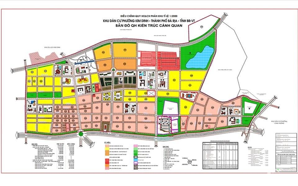 Đất Nền Kim Dinh, Cách Trung Tâm TP.Bà Rịa Chỉ 2 km, Chỉ 900 triệu Sở Hữu Ngay