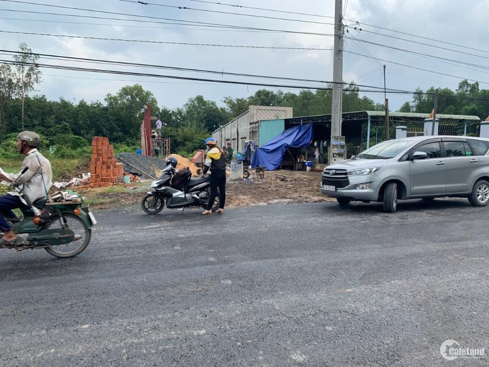 Đất mặt tiền thị trấn Gò Dầu, đường mối nối cao tốc HCM - Mộc Bài, giá quá rẻ