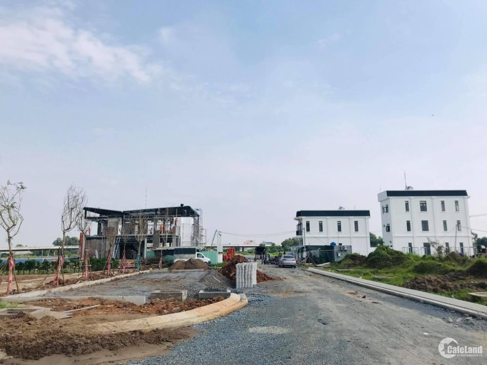 Bán lô đất trong khu công nghiệp Hải Sơn, sát chợ Hưng Long 1,5 tỷ
