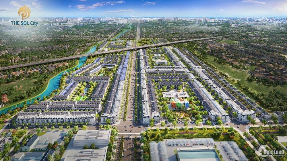 [SIÊU PHẨM DỰ ÁN 105HA] - The SOL City Nam Sài Gòn Giá F0: 1,3tỷ - 2,1 tỷ/ Nền