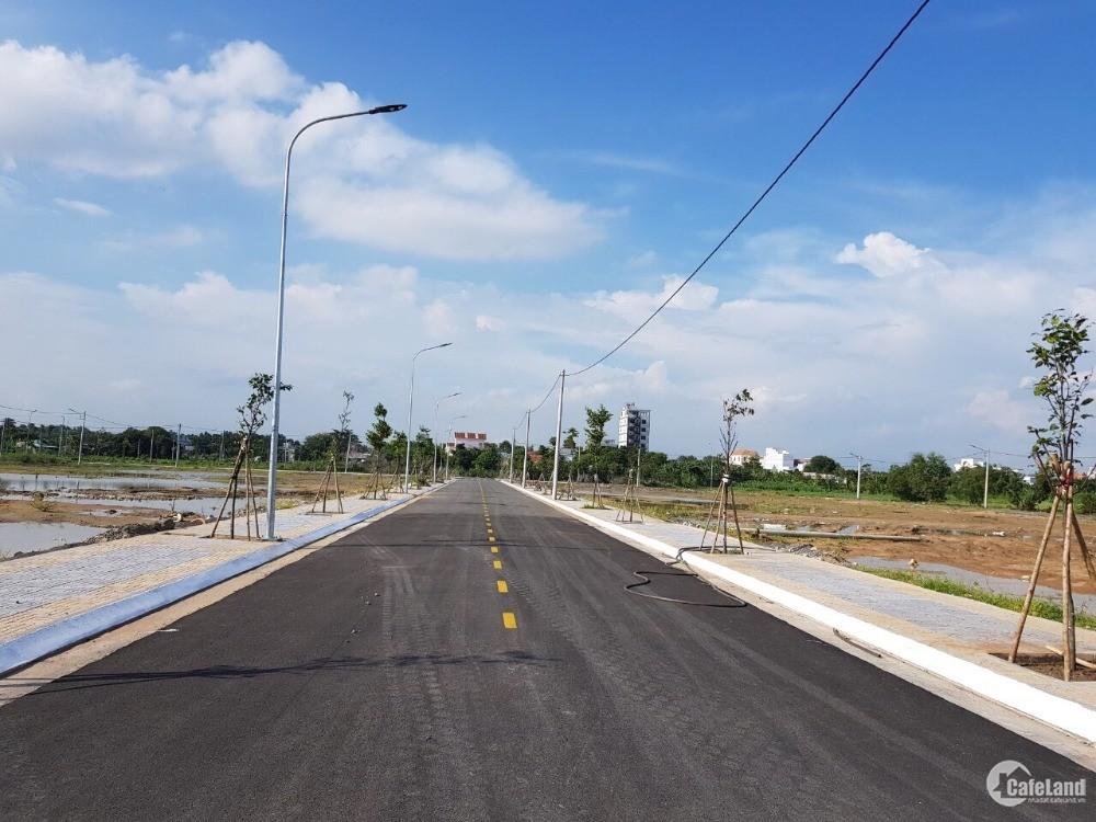 bán đất mặt tiền tỉnh lộ ở thị trấn Long Điền