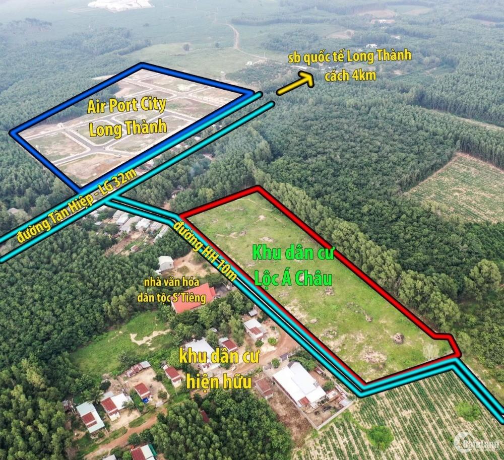 Sân bay Long Thành sắp khởi công, sở hữu ngay 1 sào đất cạnh sân bay