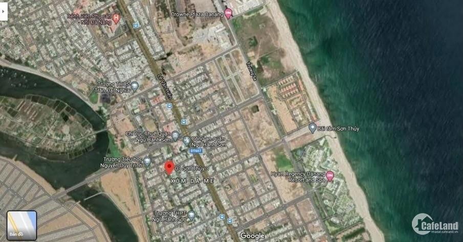 Cần bán 125m2 đất thổ cư gần Ủy Ban quận Ngũ Hành Sơn
