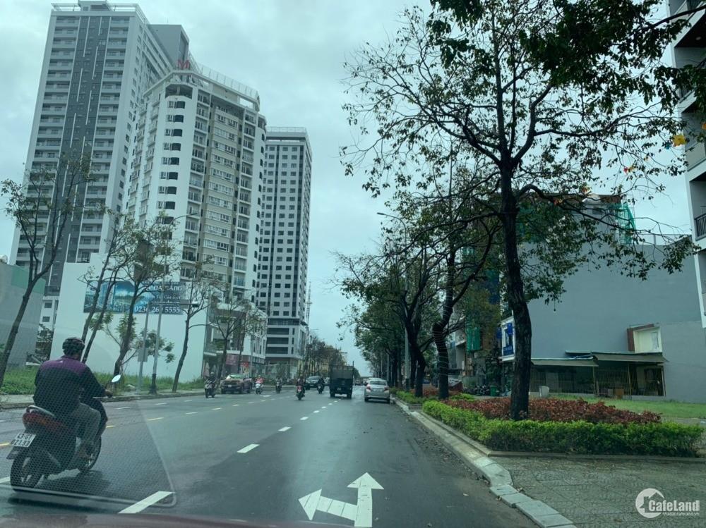 Bán đất 96m2 Trần Hưng Đạo, hướng Đông đối diện tòa căn hộ Monarchy gần cầu Rồng