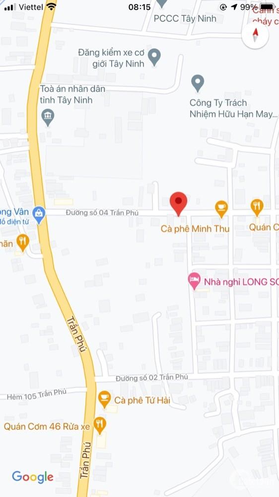 Bán đất hẻm 04 Trần Phú, Ninh Trung, Ninh Sơn, TP Tây Ninh
