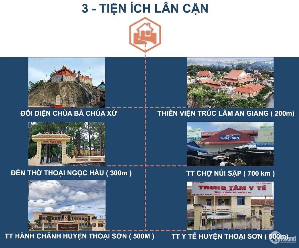 Khu Dân Cư Tây Thoại Ngọc Hầu, Thị Trấn Núi Sập, An Giang