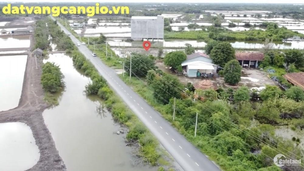 Chính chủ cần Bán 6142 m2 đất mặt tiền đường Lý nhơn, An thới đông,  Cần Giờ