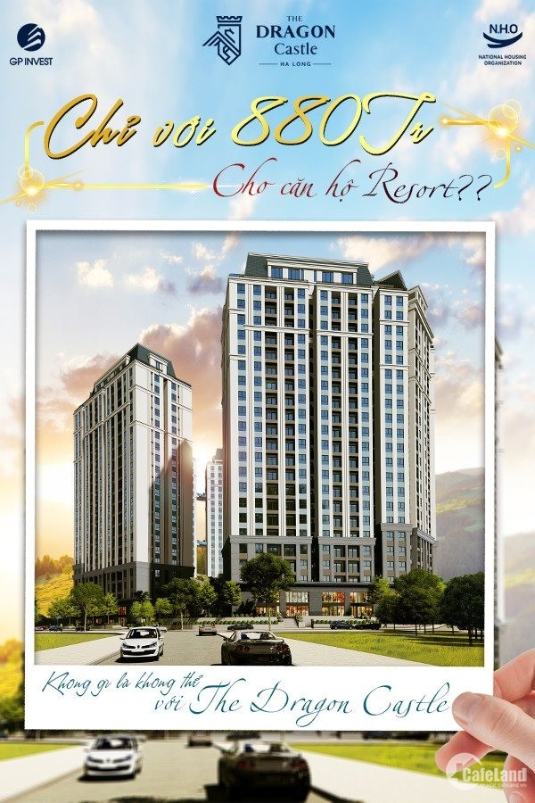 Bán căn hộ 1 ngủ tại Hạ Long với giá 840 triệu