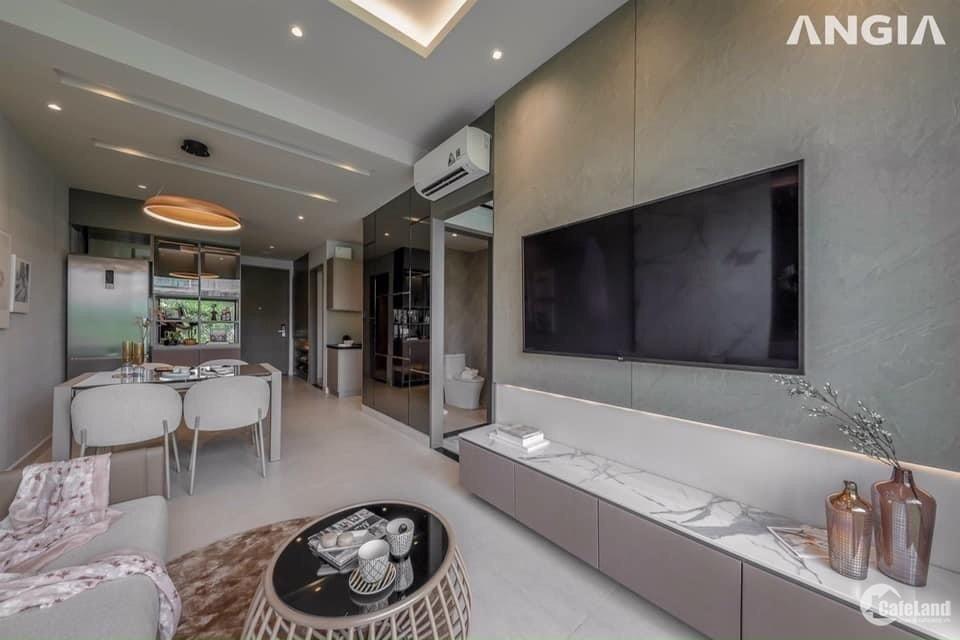 Chỉ 599tr sở hữu ngay căn hộ mặt tiền Nguyễn Văn Linh 2PN 2WC, Full nội thất