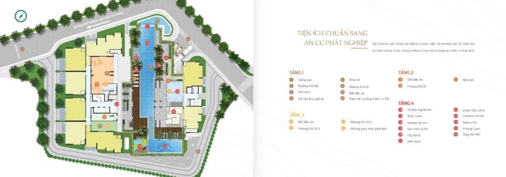Chỉ TT 1.6 tỷ mua căn hộ 3PN = 96.7m2 - 101.2m2. CK 2% cho 10HK đầu tiên