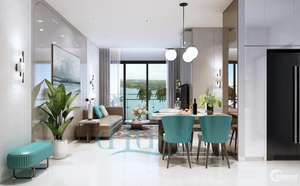 Chủ Bán 2 căn hộ Dlusso Q.2 view sông, 2PN tặng 3 máy lạnh, NT cao cấp, 4 tỷ VAT