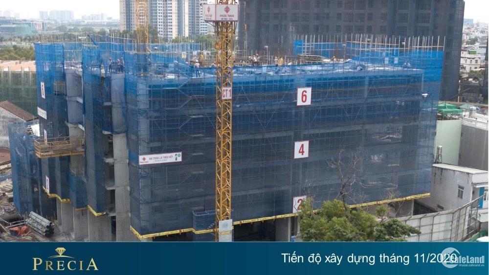 CẦN BÁN căn góc 3PN dự án Precia Q2. Trả trước 1.8 tỷ, vay ls 0% trong 20 tháng