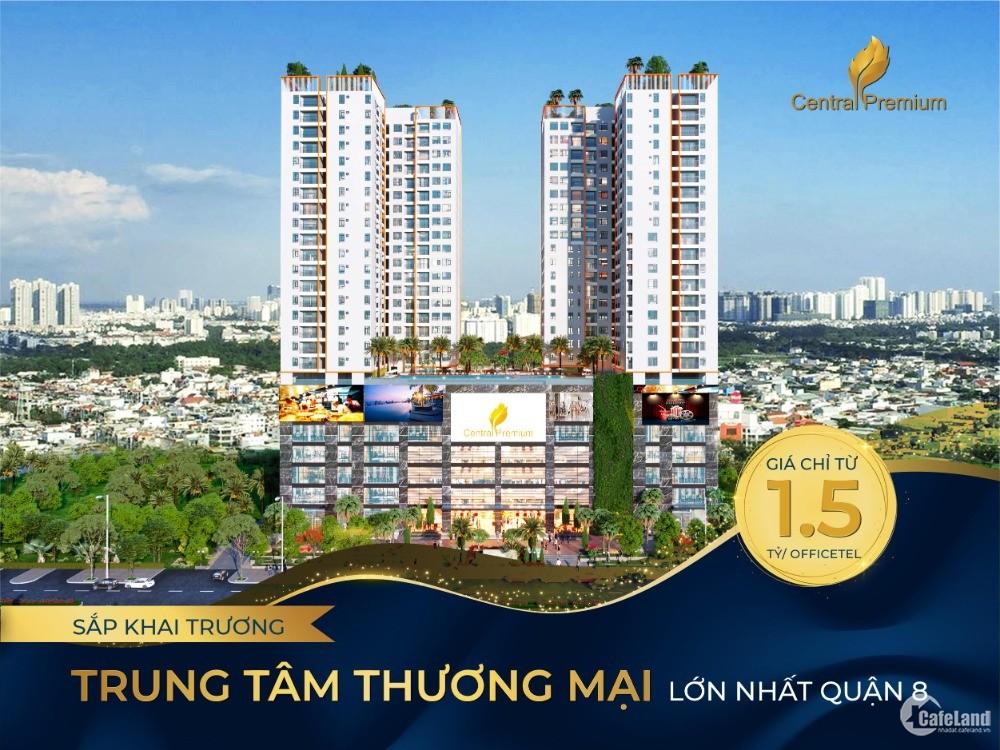 Nhận Nhà đón Tết cùng Central Premium Giai Việt Trung Tâm Q8