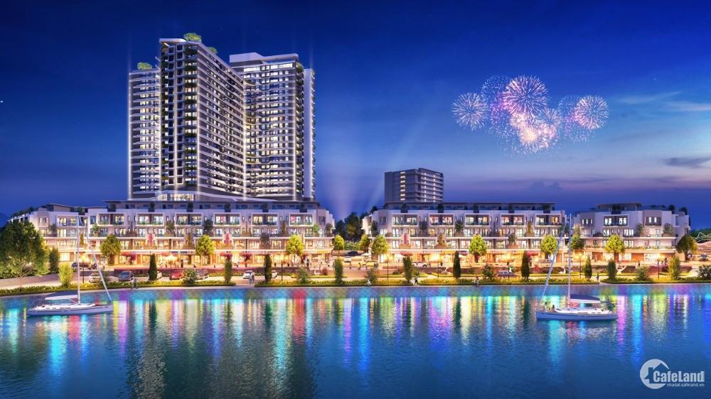 Mở Bán đợt 1 dẫy 22 nhà liền kề đẹp nhất của HACOM MALL giá Chính CDT Thành Đông