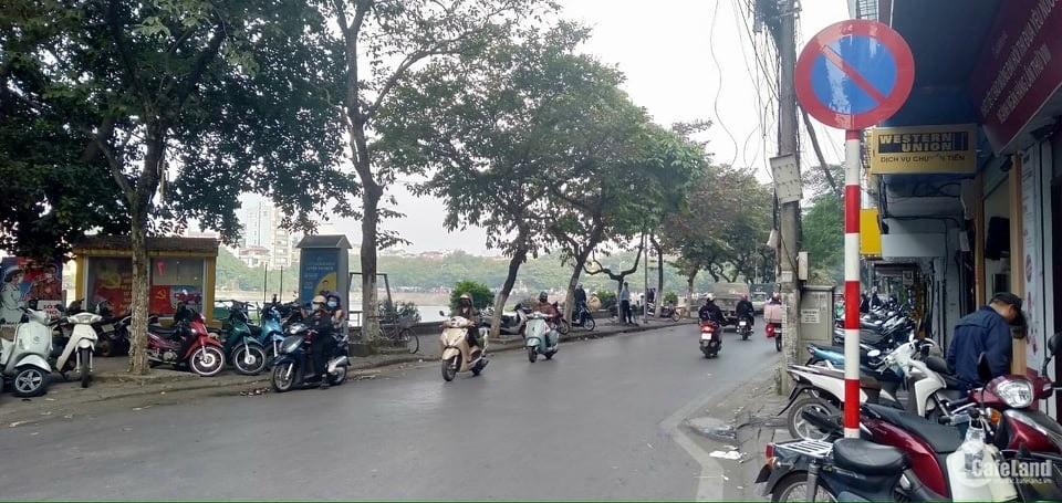 Bán đất mặt phố Trần Hữu Tước 170m2 - Mt 13m. Giá 32,8 Tỷ