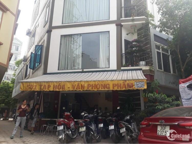 Nhà lô góc 5 tầng khu dịch vụ Đào Đất, Hàng Bè, Mậu Lương, Hà Đông.