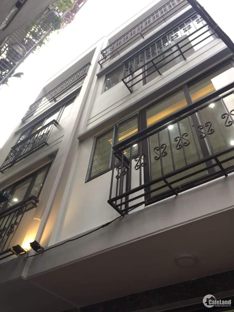 Nhà phố Bạch Đằng gần Lương Yên, Trần Khát Chân, Lò Đúc 4 tầng xây mới, 3,2 tỷ