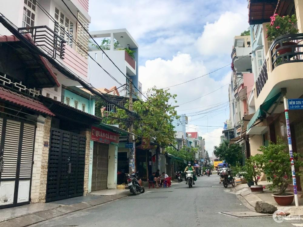 Bán nhà hẻm 8m Tân Kỳ Tân Quý (Đối diện Aeon), 5.4x21m, Giá 10.5 tỷ TL