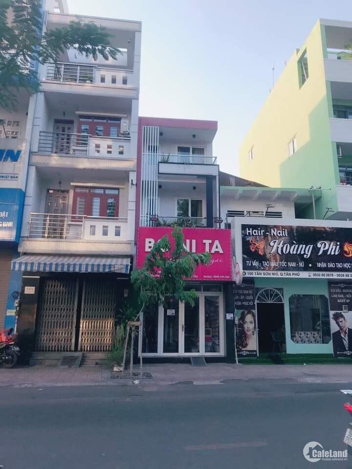 Bán nhà MTKD Tân Sơn Nhì, 4x18m, Lửng 2 lầu ST, Giá 17.2 tỷ TL