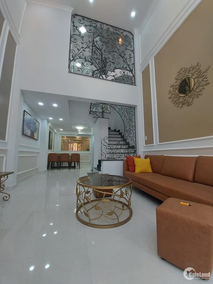 Giảm 1 tỷ, bán nhanh nhà HXH Nguyễn Văn Đậu, 90m2, 4 tầng, chỉ 7.99 tỷ ở ngay