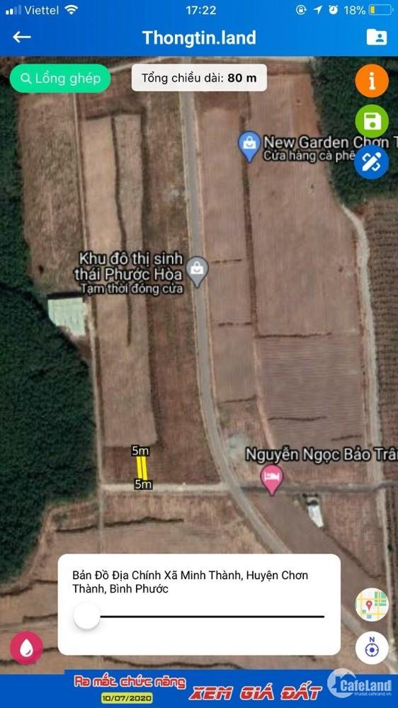 Bán Đất Mặt Tiền Khu Đô Thị Sinh Thái Phước Hòa