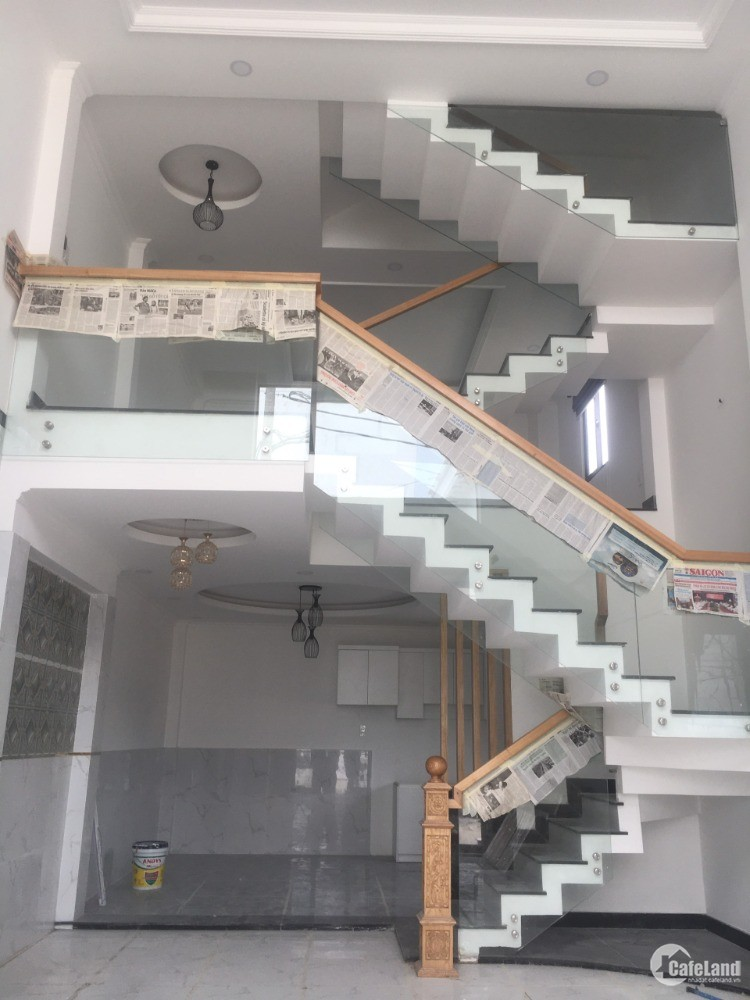 Bán nhà Q12 mới xây - Thạnh Xuân 38 - Phường Thạnh Xuân , Quận 12 - Đã có sổ