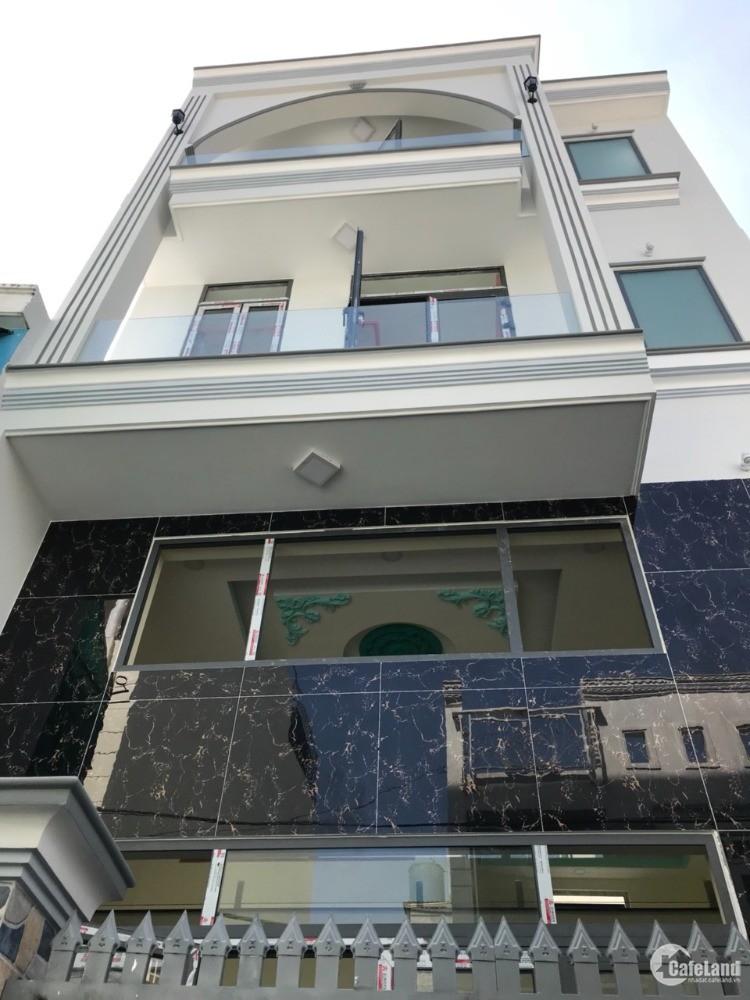 Bán nhà mới 3 lầu MT hẻm 54 Lê Văn Lương P.Tân Hưng Q7