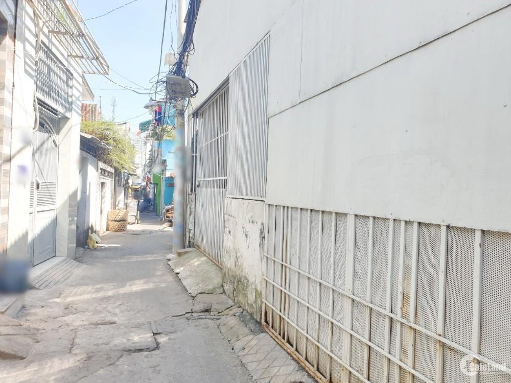 Nhà hẻm 290D (cafe Nhật Nguyệt) đường Dương Bá Trạc P1 Q8