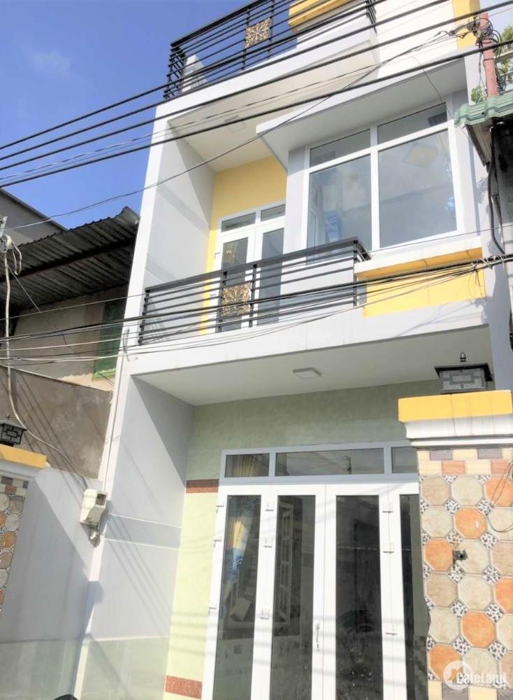 Bán nhà hẻm xinh ngay KCN Tân Tạo, DT 44m2, 1 lầu LH: 0399 492 606