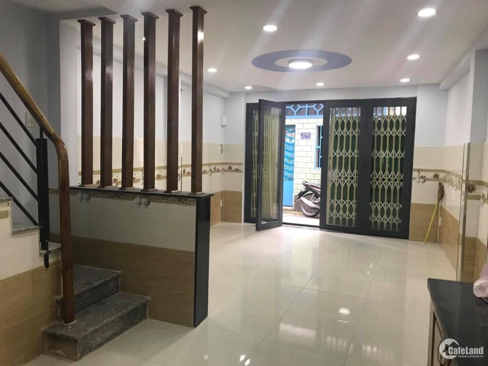 Bán nhà có sổ hồng đường Bùi Thị Xuân quận Tân Bình, giá rẻ, 1 lầu.