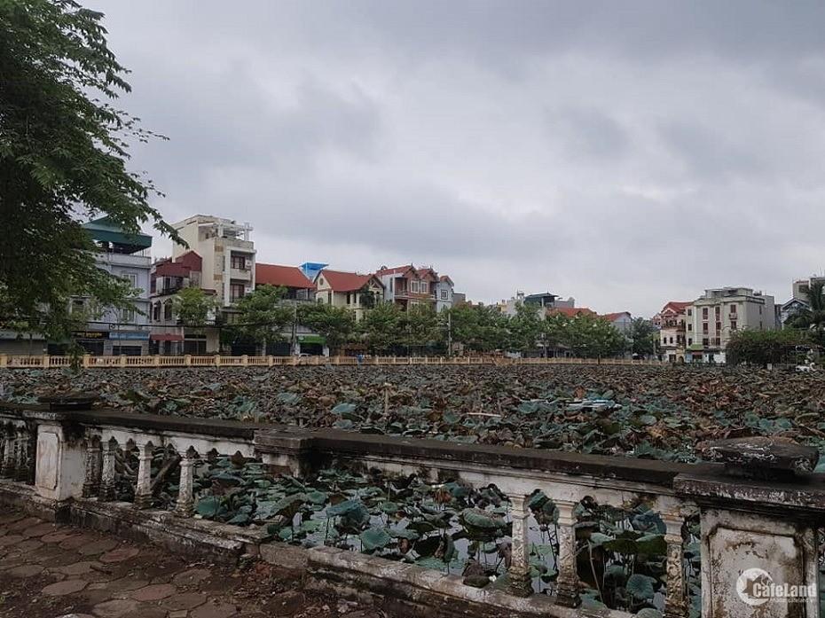 Bán đất Phú Diễn, Oto, gần hồ, đầu tư tốt 34m2 MT3.9m giá 2.2 tỷ.